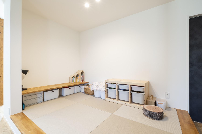 ママが思い描いた理想の家。快適な間取りは家族への愛の家。SimpleBox+Box07
