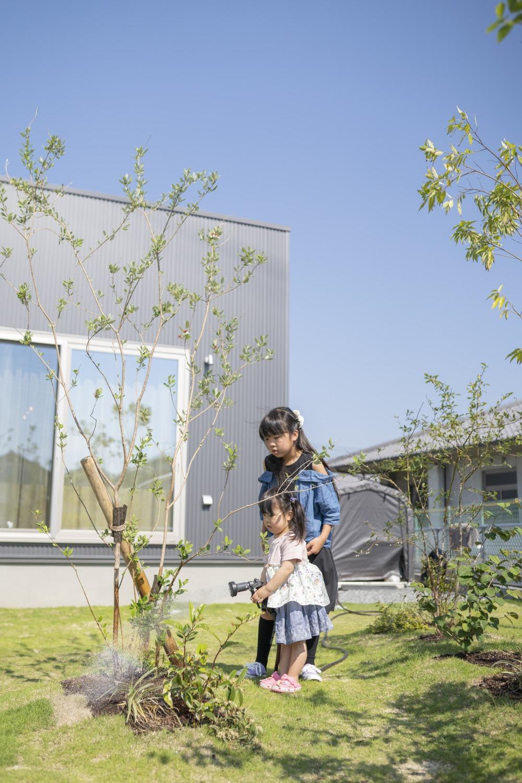 ママが思い描いた理想の家。快適な間取りは家族への愛の家。SimpleBox+Box03