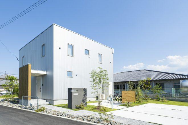 福岡久留米注文住宅会社ホームラボ 外観施工事例画像